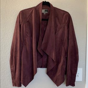 KUT from the same kloth faux suede jacket